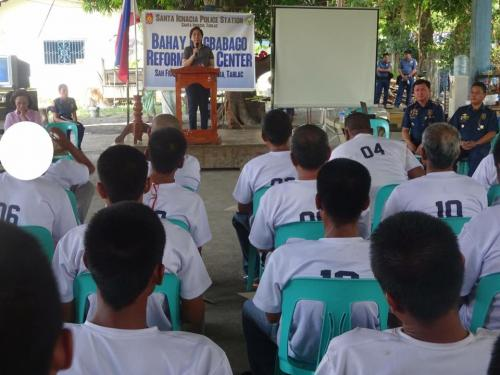 Closing Ceremony of the 6th Batch Reformist of Santa Ignacia Bahay Pagbabago Reformation Center @ Brgy. San Francisco (10)