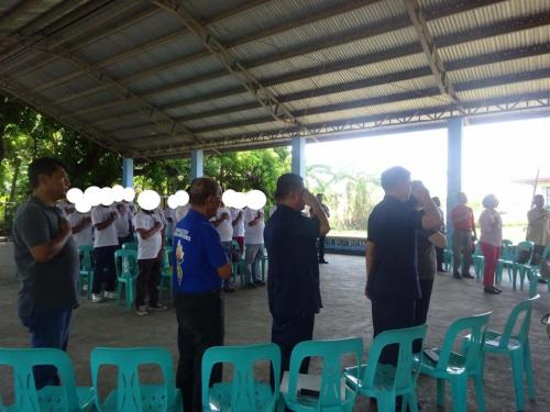 Closing Ceremony of the 6th Batch Reformist of Santa Ignacia Bahay Pagbabago Reformation Center @ Brgy. San Francisco (11)