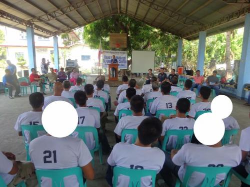 Closing Ceremony of the 6th Batch Reformist of Santa Ignacia Bahay Pagbabago Reformation Center @ Brgy. San Francisco (12)