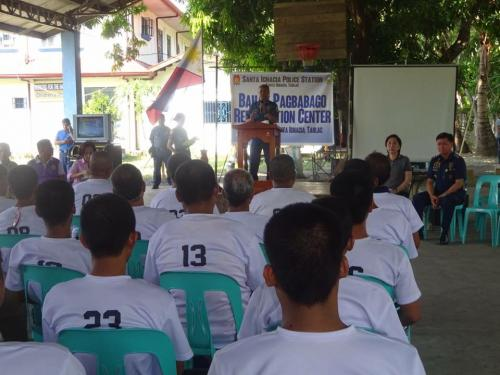 Closing Ceremony of the 6th Batch Reformist of Santa Ignacia Bahay Pagbabago Reformation Center @ Brgy. San Francisco (17)