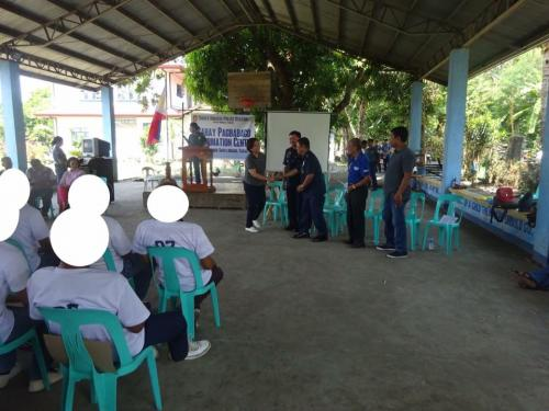 Closing Ceremony of the 6th Batch Reformist of Santa Ignacia Bahay Pagbabago Reformation Center @ Brgy. San Francisco (19)