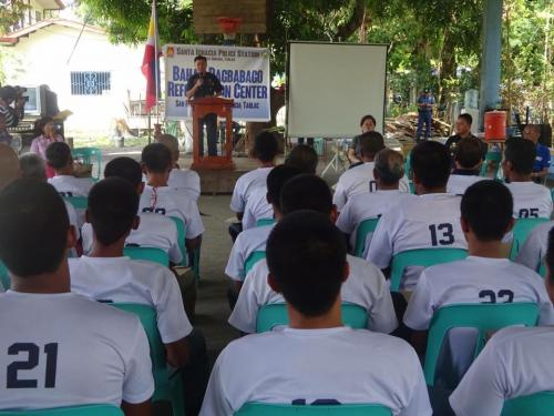 Closing Ceremony of the 6th Batch Reformist of Santa Ignacia Bahay Pagbabago Reformation Center @ Brgy. San Francisco (20)