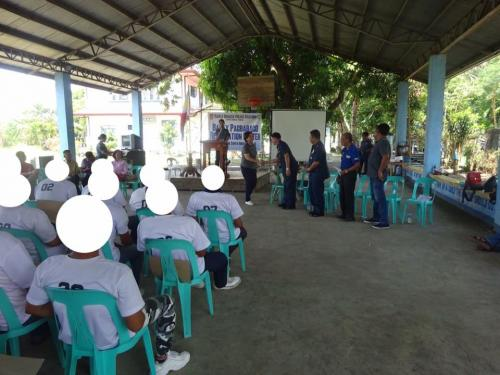 Closing Ceremony of the 6th Batch Reformist of Santa Ignacia Bahay Pagbabago Reformation Center @ Brgy. San Francisco (6)