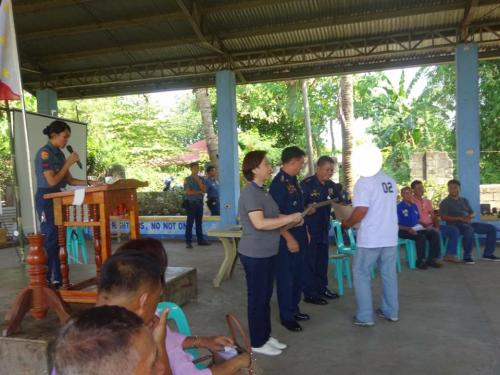 Closing Ceremony of the 6th Batch Reformist of Santa Ignacia Bahay Pagbabago Reformation Center @ Brgy. San Francisco (9)