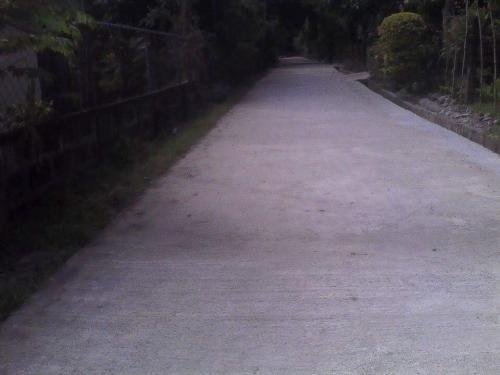 Concreting of Brgy. Road Brgy.Caanamongan @ Purok Namnama