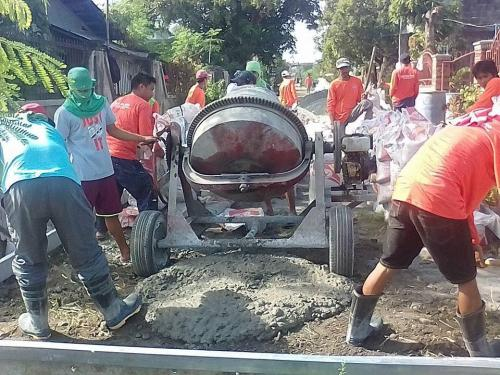 Concreting of Brgy. Road Ignacio Street/Besides Sta.Ignacia Academy