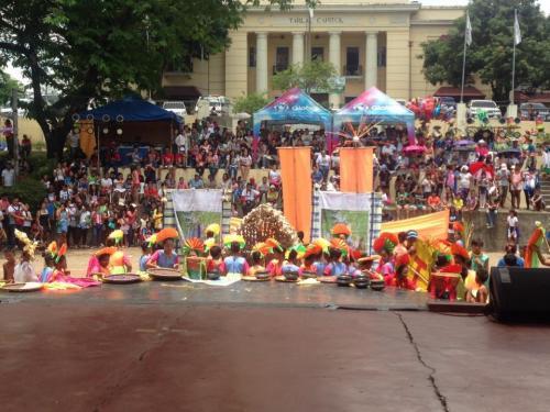 Delegado ng Santa Ignacia sa 1st KanLahi Festival Street Dancing Competition