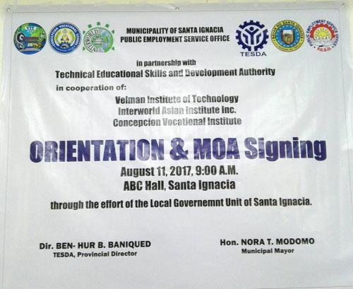 GU Santa Ignacia  TESDA Training Program in Santa Ignacia, Tarlac  (5)