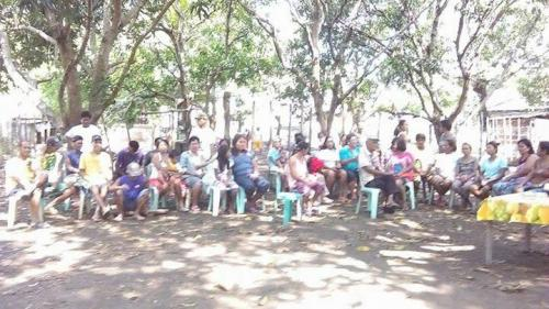 May 3,2017--900 AM purok 5,PAO Meeting about SOLID WASTE, Rep. Act 9003 (1)