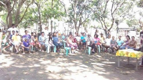 May 3,2017--900 AM purok 5,PAO Meeting about SOLID WASTE, Rep. Act 9003 (4)