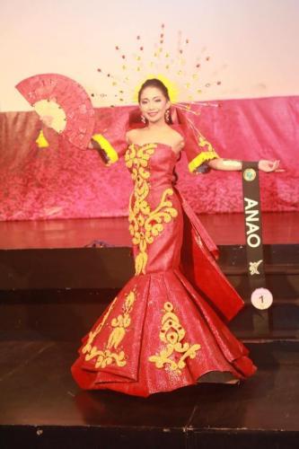 Anao - Mutya Ng Lalawigan Ng Tarlac 201 - 7 Festival Costume Competition