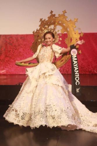 Mayantoc - Mutya Ng Lalawigan Ng Tarlac 201 - 7 Festival Costume Competition