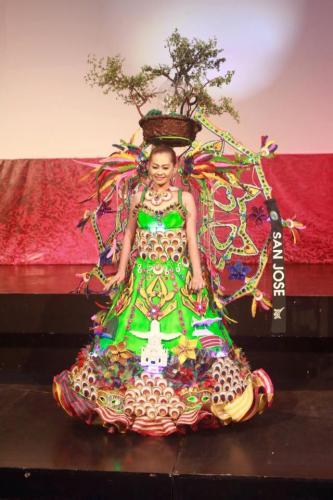 San Jose - Mutya Ng Lalawigan Ng Tarlac 201 - 7 Festival Costume Competition