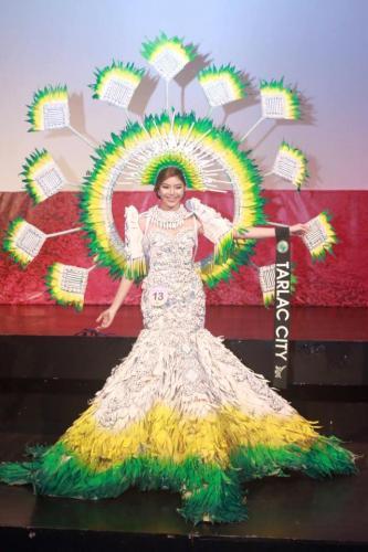 Tarlac City - Mutya Ng Lalawigan Ng Tarlac 201 - 7 Festival Costume Competition