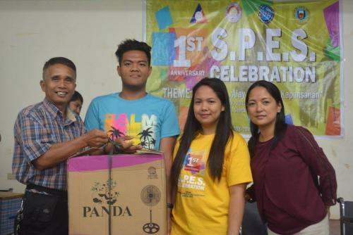 PESO Coordinator Mr. Julius Roque celebrates 1st anniversary Celebration of the Santa Ignacia SPES Beneficiaries Organization (18)
