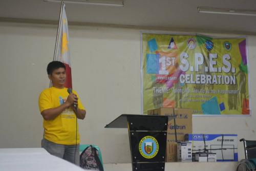 PESO Coordinator Mr. Julius Roque celebrates 1st anniversary Celebration of the Santa Ignacia SPES Beneficiaries Organization (22)