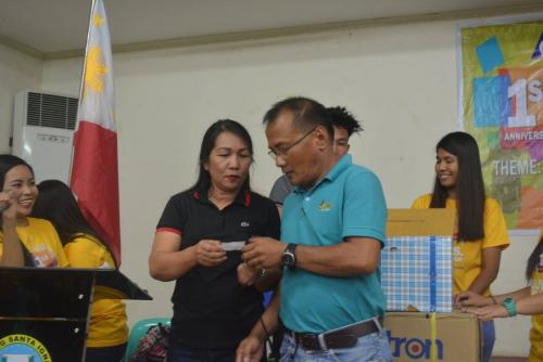 PESO Coordinator Mr. Julius Roque celebrates 1st anniversary Celebration of the Santa Ignacia SPES Beneficiaries Organization (23)