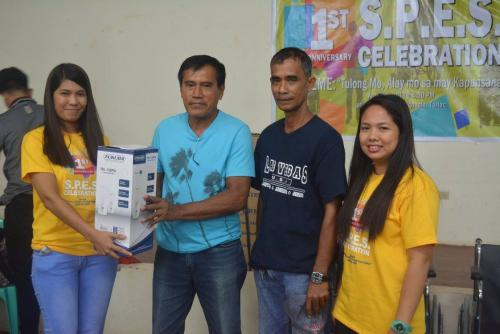 PESO Coordinator Mr. Julius Roque celebrates 1st anniversary Celebration of the Santa Ignacia SPES Beneficiaries Organization (5)