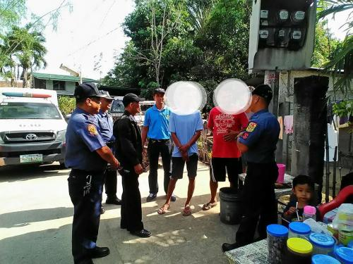 PNP personnel of Santa Ignacia Police Station led by PCINSP ERNIE M GUARIN, Chief of Police together with Pastor Odarlico Gamponia and Brgy. Capt Orlando Cosme conducted house visitation (revisi