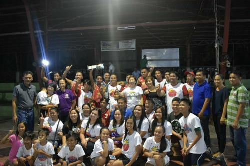 Victory Ball ng Poblacion East sa Municipal covered court (1)