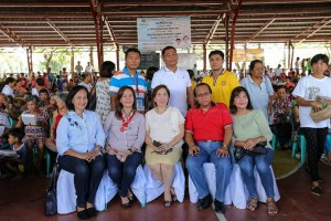 1st Municipal Senior Citizens Congress w/ Gov. Susan Yap and Vice Gov. Atty. Carlito David