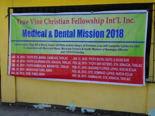 2018 Brgy Nambalan Medical and Dental Mission