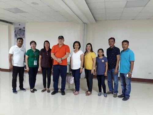 Ang Biglaang Pagbisita ni Congressman Charlie Cojuangco kasama ang ilang Mayors ng Tarlac