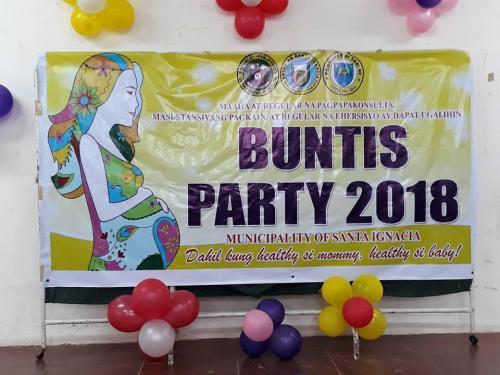 BUNTIS PARTY 2018