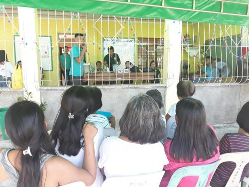 Barangay Assembly Meeting and Ribbon Cutting in Brgy. Pugo Cecilio-Newly Constucted Barangay Road