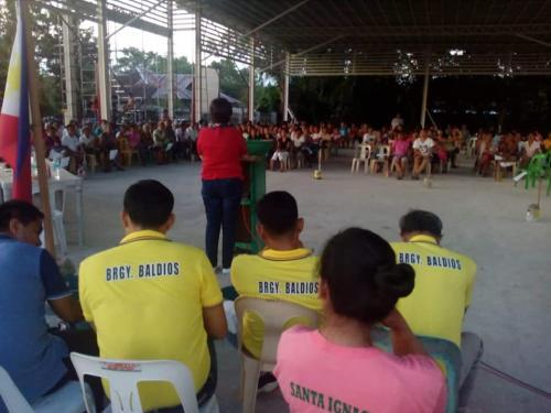 Barangay Assembly at Barangay Baldios