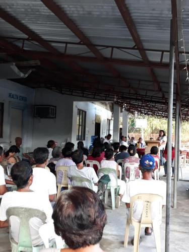 Barangay Assembly at Barangay Macaguing