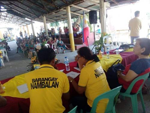 Barangay Assembly at Barangay Nambalan