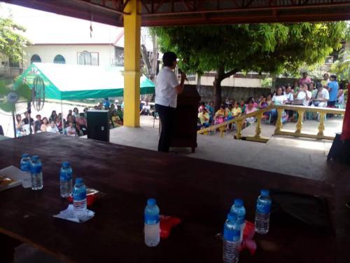 Barangay Assembly at Barangay Padapada