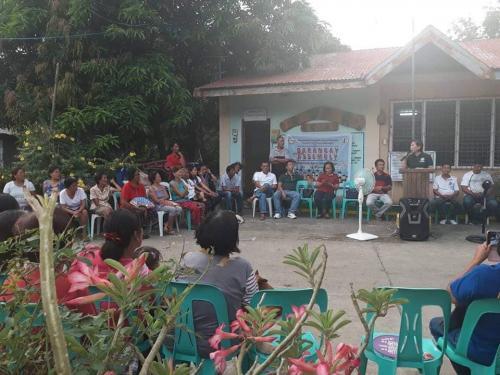 Barangay Assembly at Barangay Taguiporo