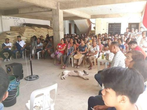 Barangay Assembly at Barangay Timmaguab