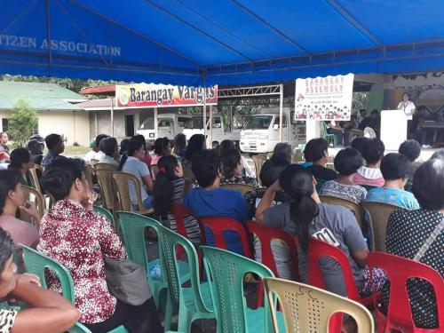 Barangay Assembly at Barangay Vargas