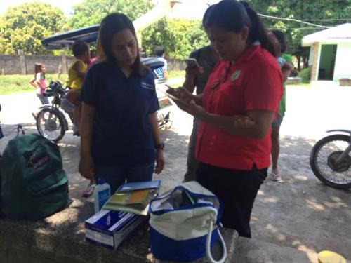 Brgy. Pinpinas, Santa Ignacia, Tarlac Outbreak Response Immunization (ORI) on Measles April 18, 2018