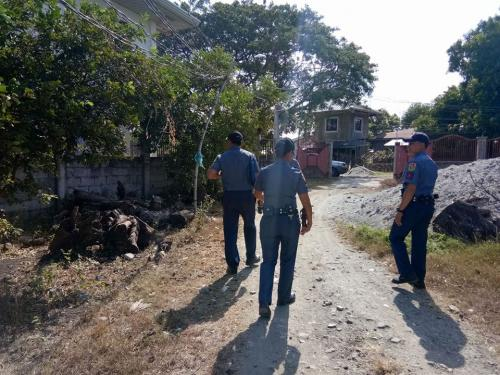 Chief of Police conducted house visitation at Leysa Residence
