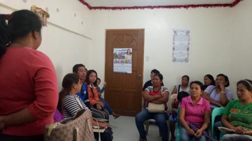DTI Go Negosyo Partnership and Monthly meeting with Santa Ignacia Women's