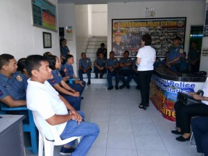Dialogue to all PNP Personnel Sta. Ignacia Police Station regarding Municipal Ordinances