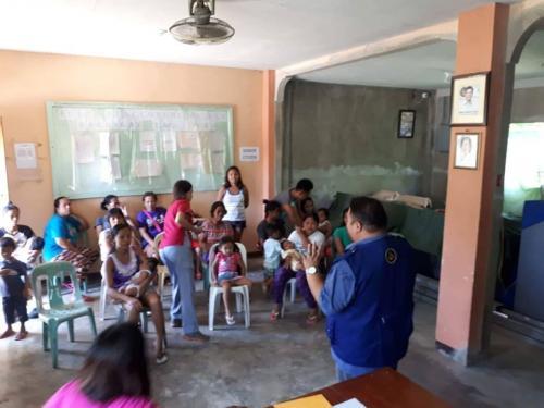 Family Planning Implementation at Barangay Taguiporo Santa Ignacia, Tarlac May 22, 2018