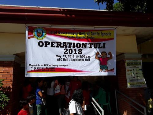"""May 24, 2018 ang """"Operation Tuli"""" ng LGU Santa Ignacia, Tarlac, Serve the People !"""