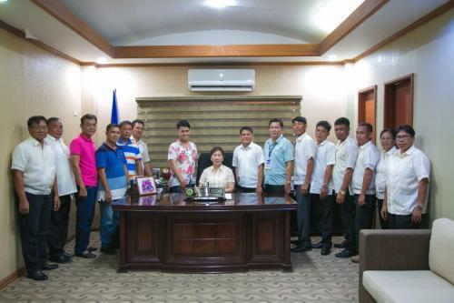 Oath Taking Ceremony of LIGA NG BARANGAY of the Municipality of Santa Ignacia