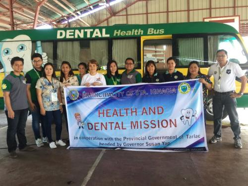 Oral Health Month Celebration Santa Ignacia Covered Court