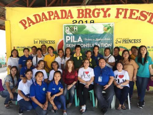 Partners in Leprosy Action (PILA) Skin Consultation Brgy. Padapada Plaza, Santa Ignacia, Tarlac February 27, 2018 (Day 1)