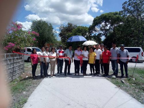 Pasinaya ng mga Bagong Sementadong Kalsada sa Purok Saranay, Purok Rang-ay at Purok Ragsak sa Santa Ines West