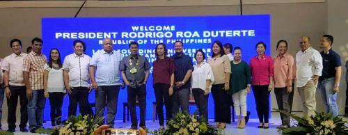 President Rodrigo Roa Duterte leads the 145th Founding Anniversary and the 2nd Kanlahi Festival