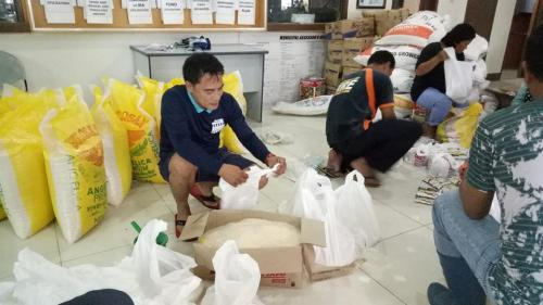 Re-Packing #RELIEF_GOODS  July 21, 2018