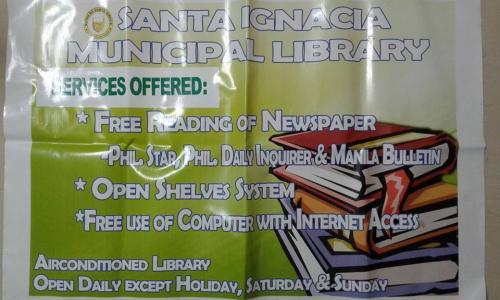 SANTA IGNACIA MUNICIPAL LIBRARY / TECH4ED CENTER