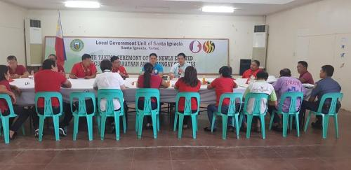 SGLG Mock Assessment and LGU Competency Assessment of the Municipality od Santa Ignacia  July 31, 2018